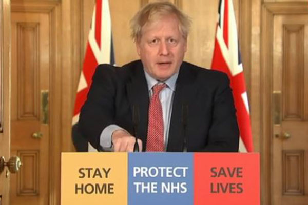 Boris Johnson internado en hospital por COVID 19